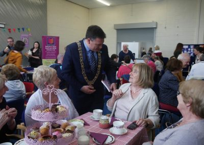 Lord Mayor with ladies